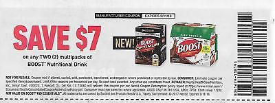 (4) Boost Nutritional Drink $7.00 off any 2 multipacks, exp 3/11