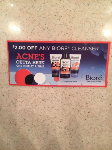 $2.00 Off Any Biore Cleanser Expires 3/31/18
