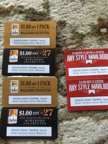Marlboro Coupons $12.00 Exp 3-31-2018