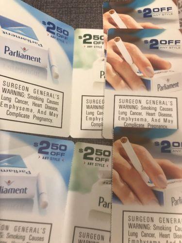 $16 off Parliament Cigarettes  expires 2/28