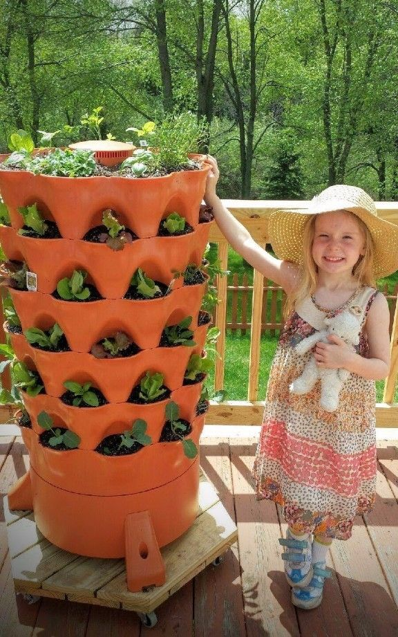 $100 OFF on GARDEN TOWER 2 - 50 plant VERTICAL organic patio COMPOSTING OUTDOOR