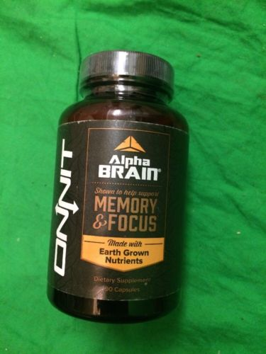 Onnit Labs Alpha Brain 90 caps MEMORY-FOCUS Free Shipping NEW/SEALED