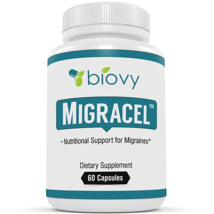 Biovy Migracel Support For A Clear Mind Mental Tension & Stress Relief 60ct - H