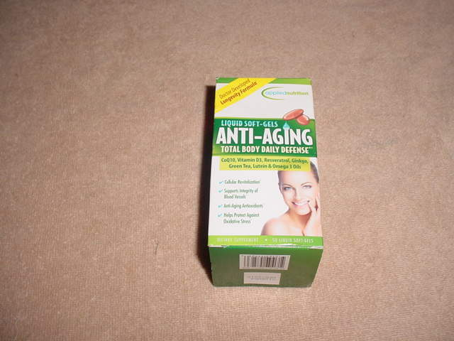 Applied Nutrition Anti-aging Total Body Daily Defense , 50 SOFTGELS EXP. 04-2018