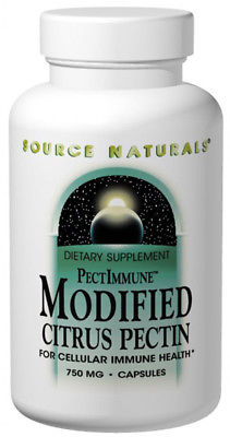 Source Naturals Modified Citrus Pectin 750 mg - 120 Capsules