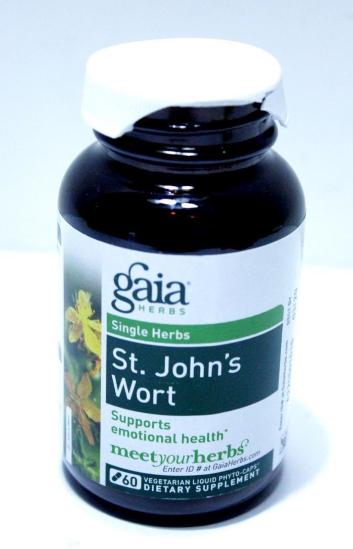Gaia Herbs St. John's Wort 60 Capsules