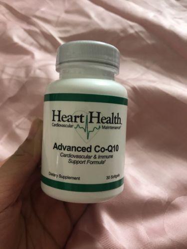 New Authentic Market America Heart Health Advanced Co-Q10 30 Servings 09/2018