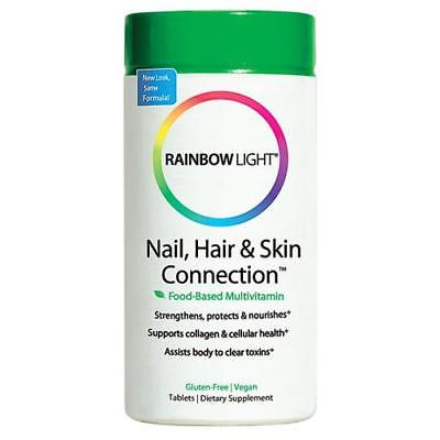 Rainbow Light Nail, Hair & Skin Connection, Tablets, 60 ea