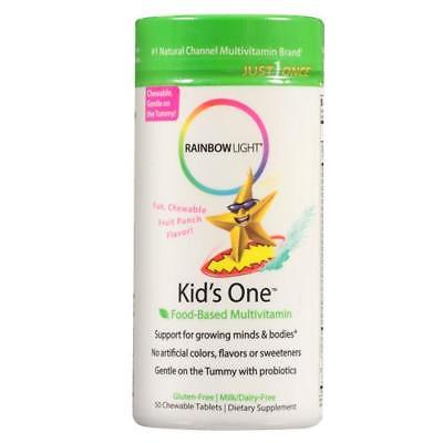 Rainbow Light Kid's One Multivitamin, Tablets, 50 ea