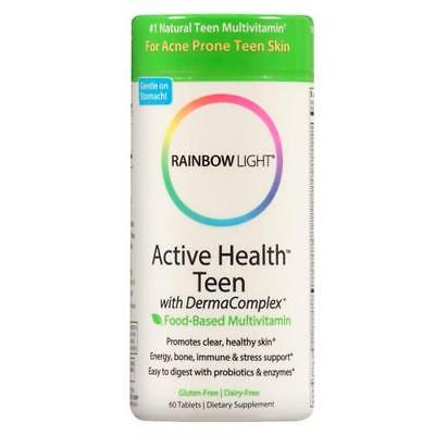 Rainbow Light Active Health Teen Multivitamin, Tablets, 60 ea