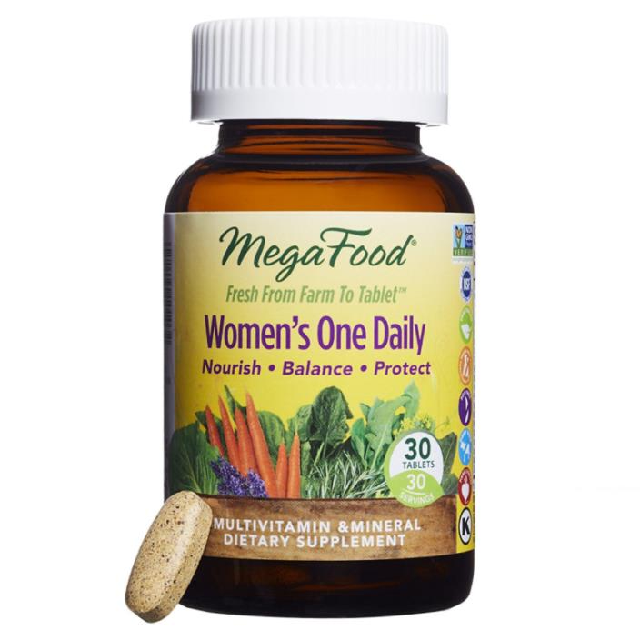 MegaFood - Women's One Daily, Supports Healthy Emotional Balance & Stress Respon