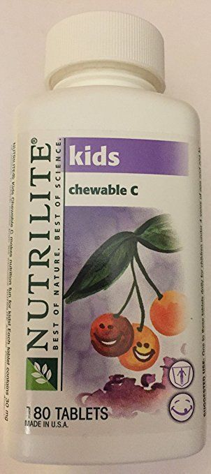 Nutrilite Kids Chewable Vitamin C 180 tabs-Exp 04/2018-FREE SHIPPING !!!