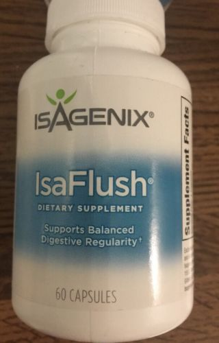 Isagenix IsaFlush Supplement 60 Caps Isa Flush Detox Colon Cleanse NEW Exp 6/20