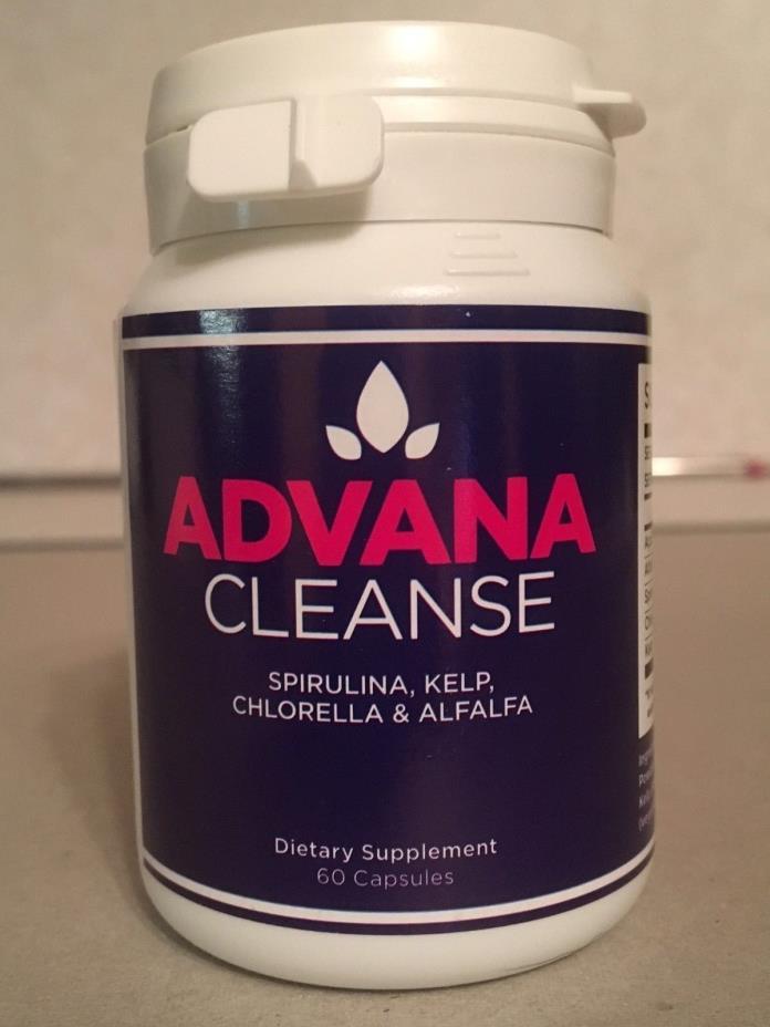 ADVANA CLEANSE Spirulina, Kelp, Chlorella & Alfalfa 60 Capsules