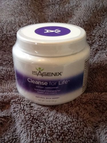Isagenix Cleanse for Life Powder NEW