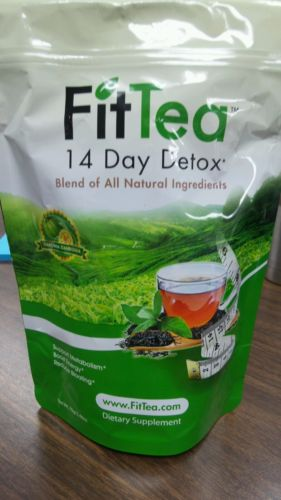 FIT TEA 14 DAY DETOX FAT BURNING, ALL NATURAL,