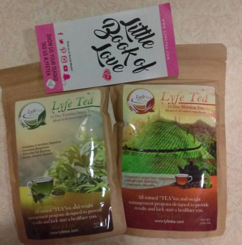 Lyfe tea 14 day morning and evening detox tea