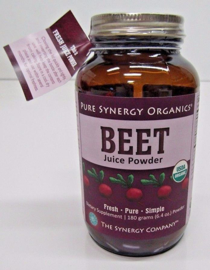 Pure Synergy Organics Beet Juice Powder - 6.35 oz