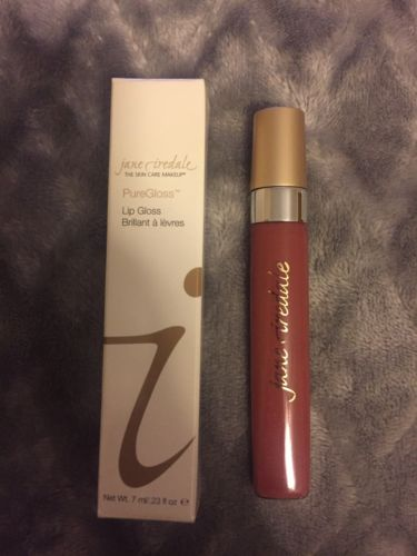Jane Iredale PureGloss Lip Gloss ( Packaging) - RASPBERRY 7ml/0.23oz Brand New