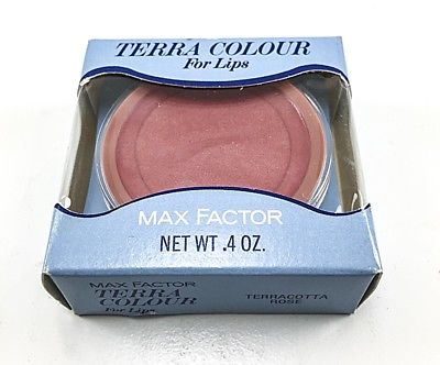 VINTAGE MAX FACTOR TERRA COLOUR for LIPS TERRACOTTA ROSE