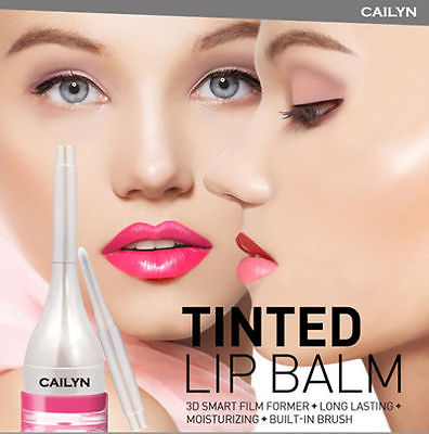 CAILYN TINTED LIP BALM - 03 SUNBURST O.14oz/4g + FREE SHIMMERING LIP GLOSS