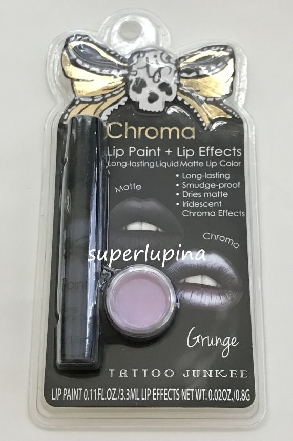 Tattoo Junkee Chroma GRUNGE Lip Paint NEW Liquid Matte Lip Color & Effects