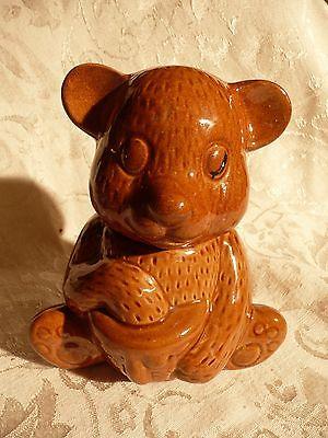 Vintage Honey Bear Jar 6 Inches Tall