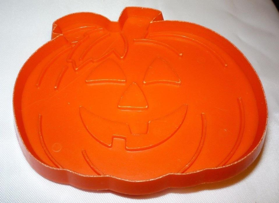 Hallmark Halloween Jack O Lantern Pumpkin Cookie Cutter Orange Hard Plastic