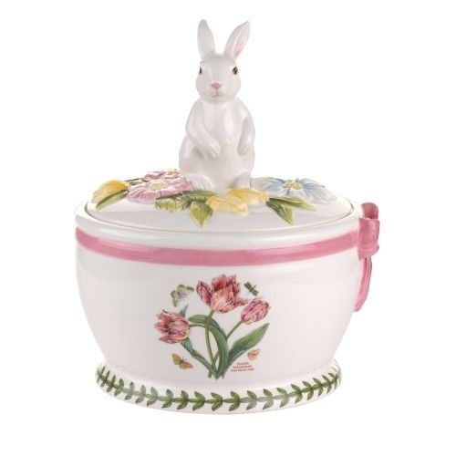 Portmeirion Botanic Garden Terrace, Easter Bunny Round Cookie Box