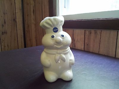1988 Pillsbury Dough Boy Coin Piggy Bank
