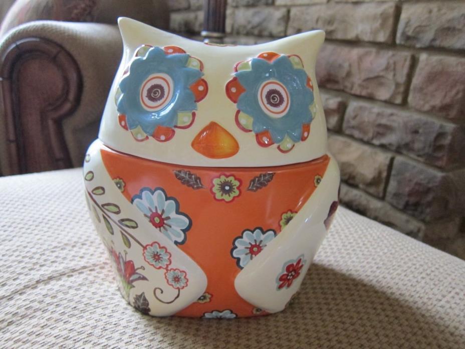 Cracker Barrel Owl Cookie Jar