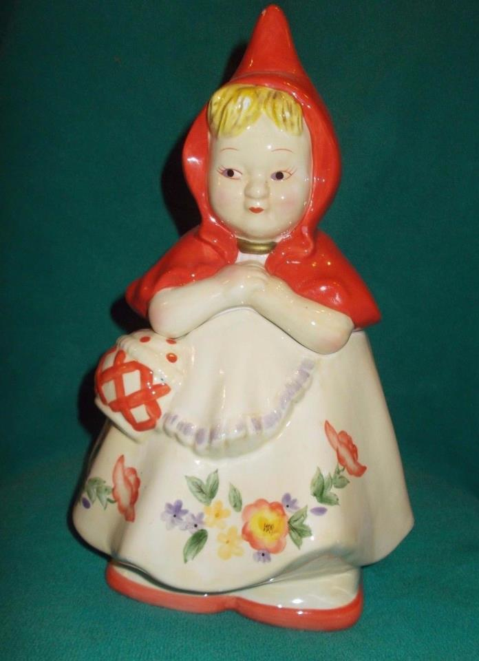 Cookie Jar Classics Little Red Riding Hood by Jonal China
