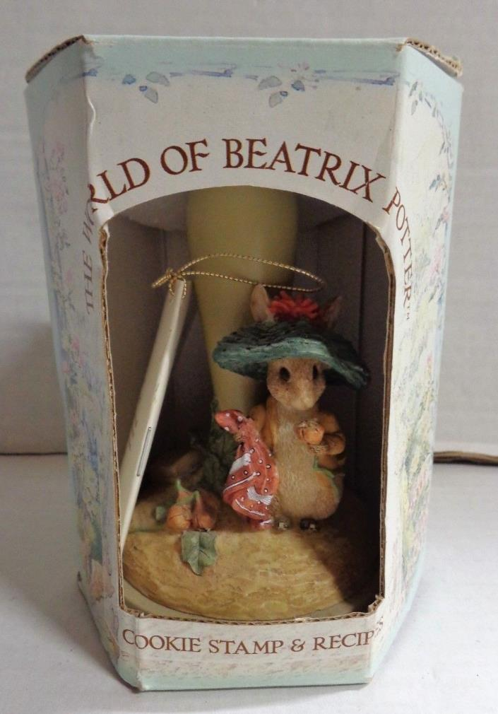 The World Of Beatrix Potter Benjamin Bunny Cookie Stamp & Recipes