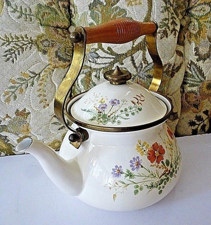 Vintage Mikasa Grande Chef 2.5 qt Tea Kettle Japan