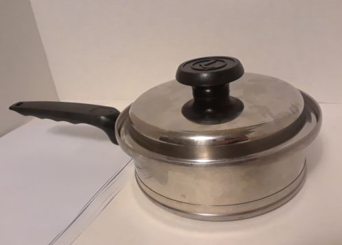 Lifetime T304 CC  Stainless Steel 1 Qt Saucepan w/Lid