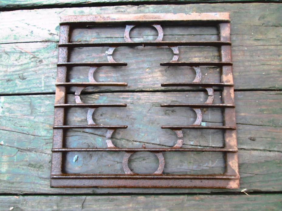Vintage Decorative Cast Iron Canning Stove Burner Grate