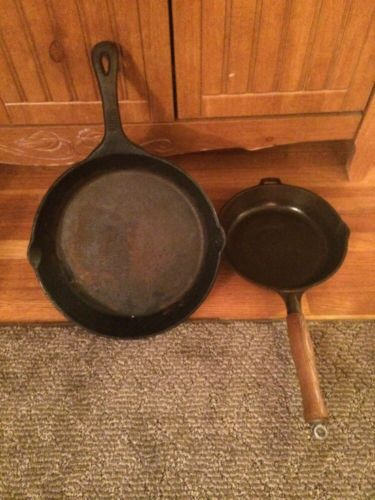 Antique Cast Iron Pans 8