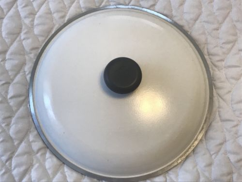 Replacement Lid for Aluminum Club Stock Pot White Dutch Oven 4 Qt. Quart Size