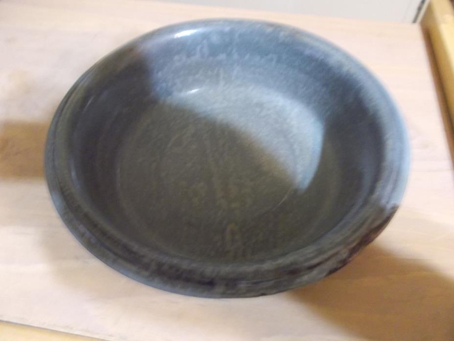 Antique Gray Mottled Speckled Graniteware 7 3/4