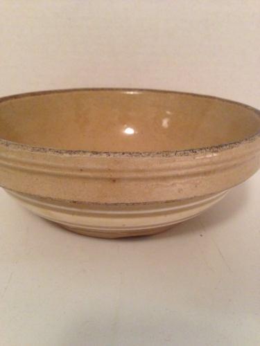 VTG Yellow Ware/Stoneware Mixing Bowl 7