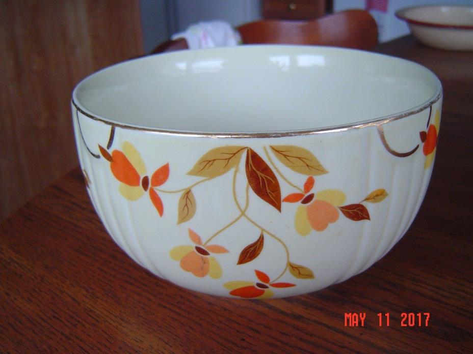 Vintage Hall's Superior Kitchenware Autumn Leaf Jewel Tea Bowl