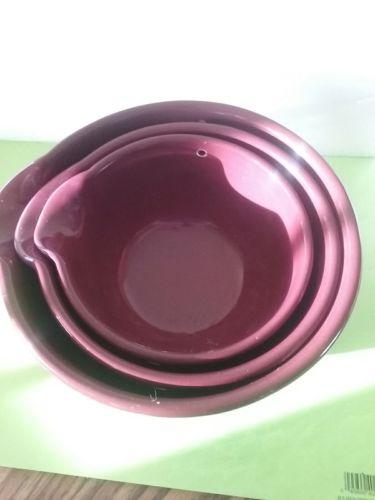 three purple nesting bowls-different sizes
