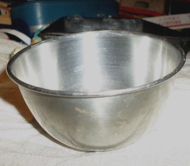 Childs Playset Kitchenware Vintage Stainless Mixing Bowl