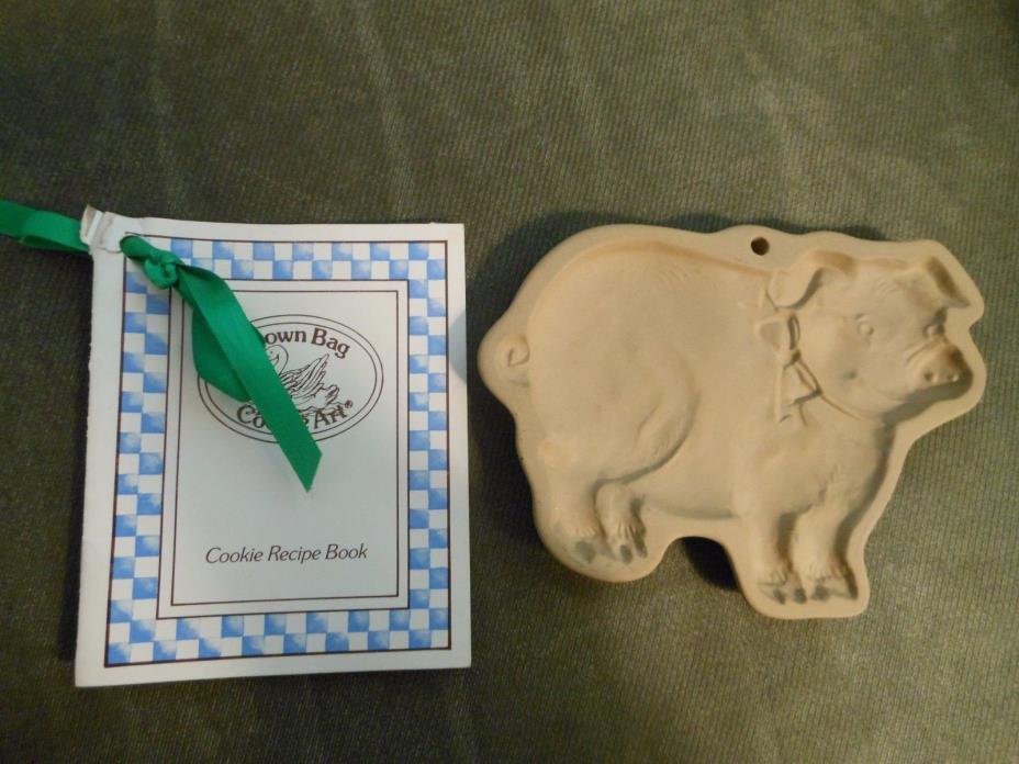 Brown Bag Cookie Art Pig Mold Hill Design