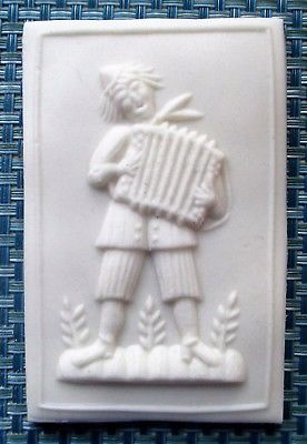NEW Springerle Speculaas Butter Cookie Paper Casting Stamp Mold - MUSICIAN PRESS