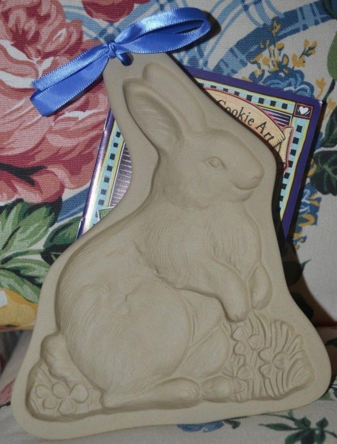 New Brown Bag Design Cookie Mold 2001 Bunny Rabbit / Rare Spelling Error!