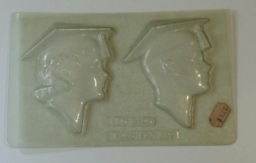 Vintage graduate chocolate candy molds graduation