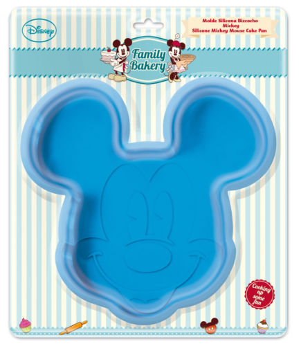 Disney Family Bakery Large Silicone Mickey Mouse Cake Mold 77710 (New)