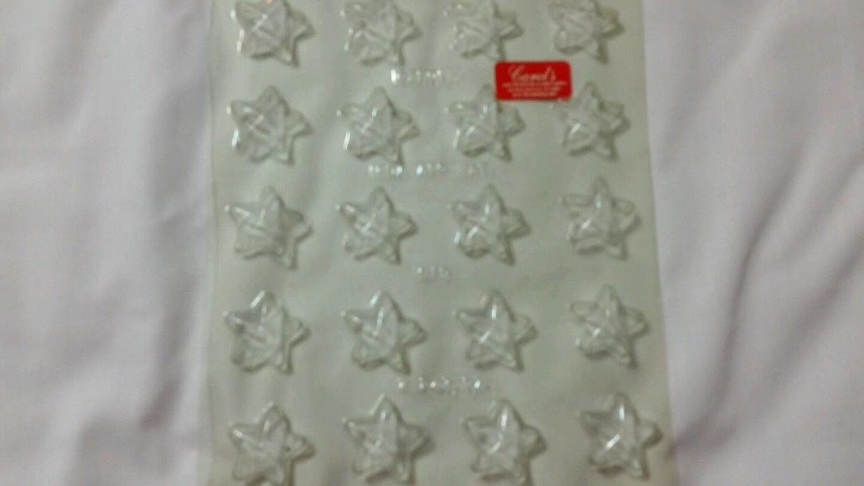 Star Shaped Candy Mold Soap Mold Multiple Rows of Stars, New