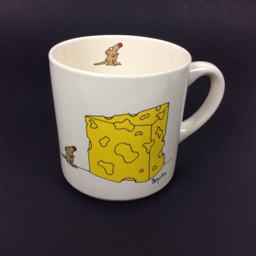 The Big Cheese Coffee Mug Sandra Boynton Mouse Cartoon Office Bosses Day Gift